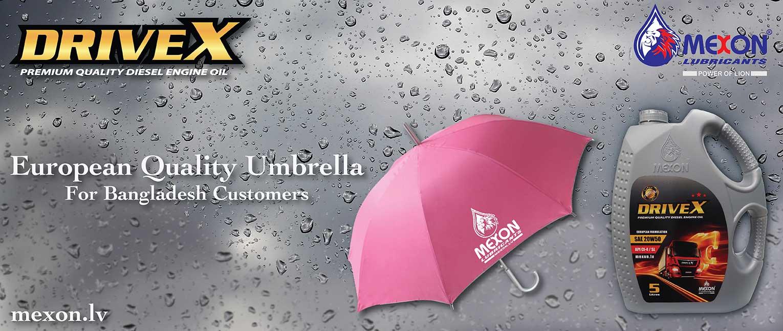Mexon Promotion Umbrella
