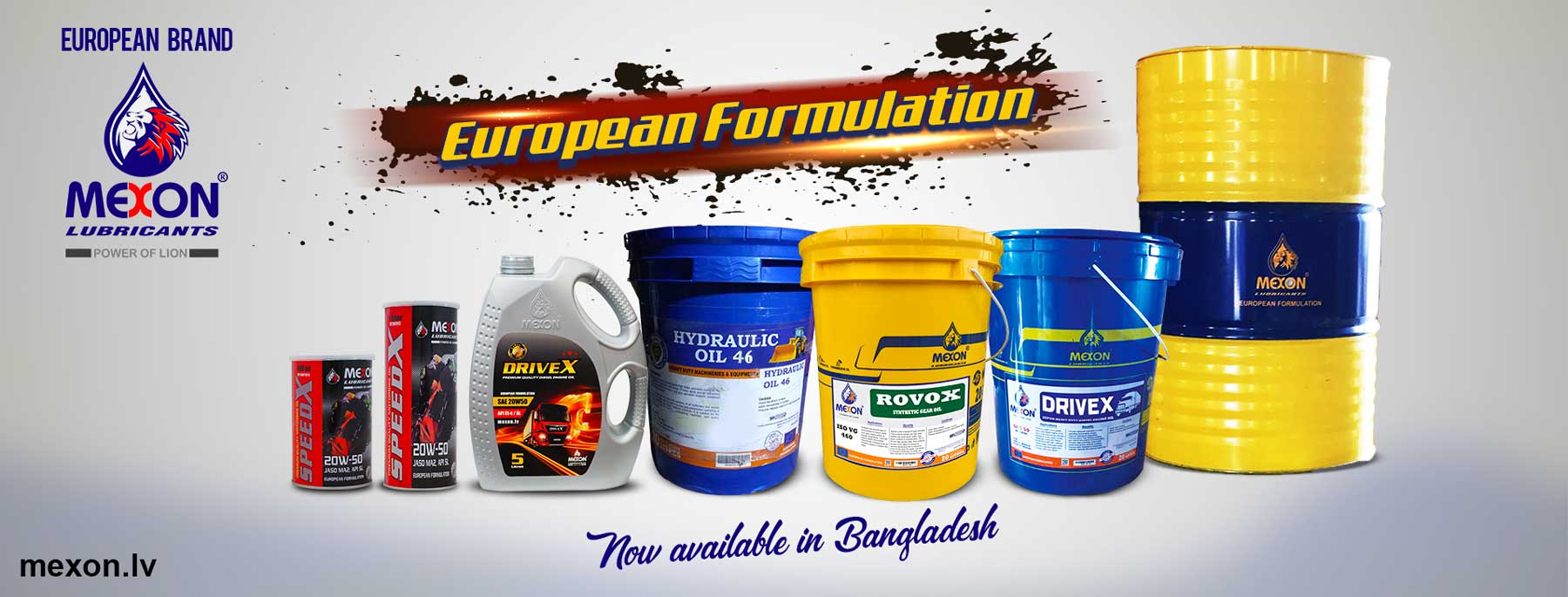 Mexon-Lubricants-Products